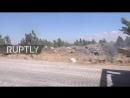 Сирийская армия вводит тяжелую технику в г. Шаджара. Правительственные силы продолжают интенсивно наступать на позиции ИГзапре