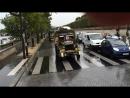 Le convoi du MVCG sur les quais de Seine à Paris. 25.08.2014.
