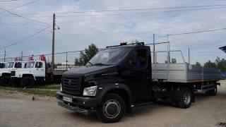 Седельный тягач на базе ГАЗон NEXT с полуприцепом (7,5 м)