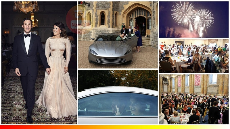 Princess Eugenie stunning in SECOND wedding dress and First picture Inside Evening Reception