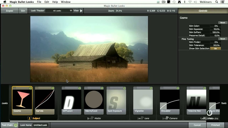 Red Giant Magic Bullet Looks - You need to see this Plug-in for FCPX