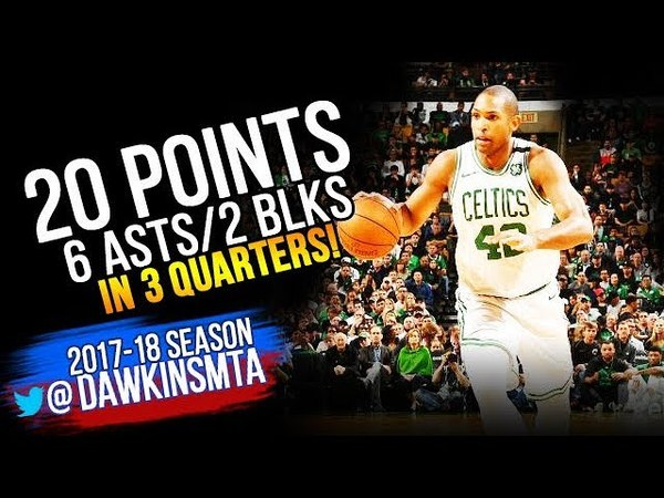 Al Horford Full Highlights 2018 ECF Game 1 Boston Celtics vs Cavaliers - 20-6-2! | FreeDawkins