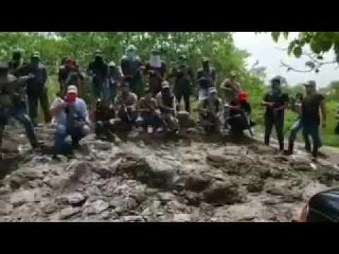 CJNG INCURSIONA EN OAXACA Y ANUNCIA LIMPIA EN VARIOS MUNICIPIOS