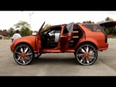 WhipAddict Super Sound System Cadillac SRX on Starr Wheel 34s Over 30 Speakers