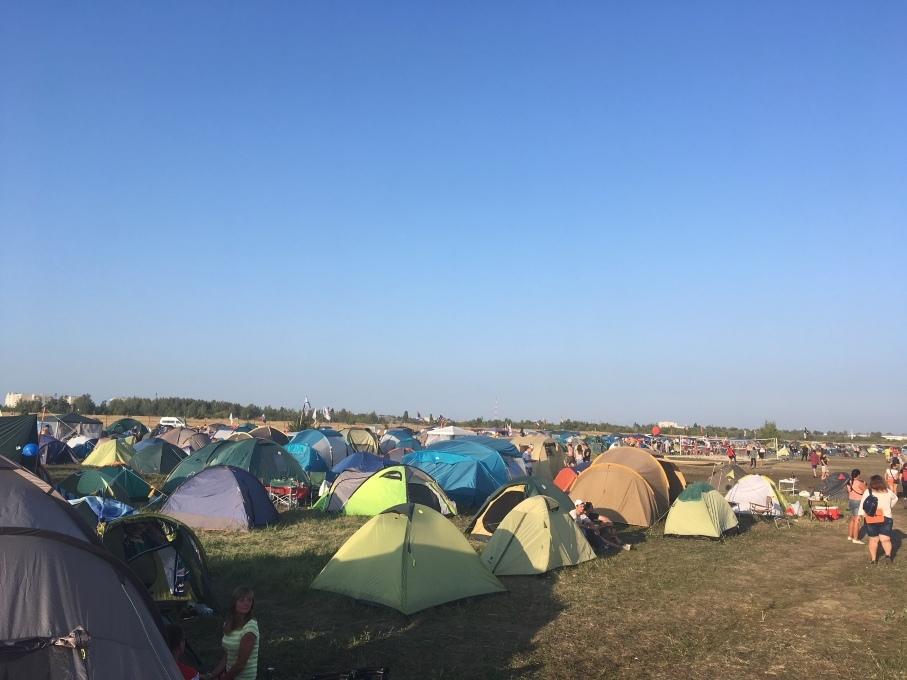 """На фестивале """"Чернозём"""" поставили 1500 палаток"""