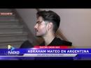 Entrevista Abraham Mateo firmo entradas en el Gran Rex