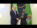 Герцог Кембриджский встретился с президентом Танзании Джоном Магуфули