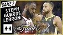LeBron James 2018 Finals Game 1 Warriors vs Cleveland Cavaliers - 51-8-8! | FreeDawkins