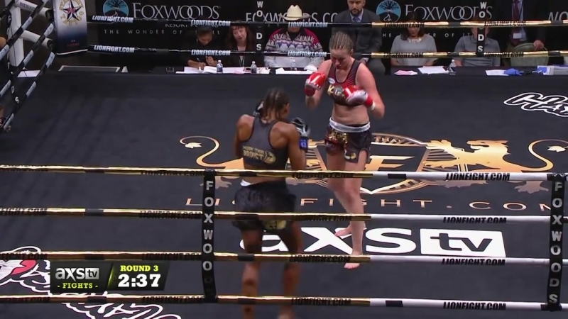 Jorina Baars Defends the Belt Once Again at Lion Fight 31
