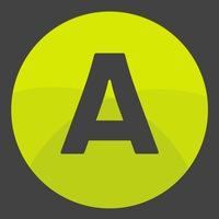 Логотип Атлетик Джим. Сеть фитнес-клубов / Тюмень