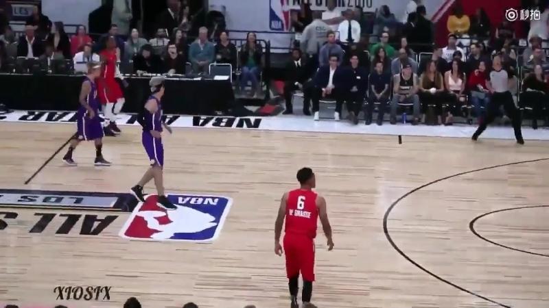 [FANCAM] 180217 Kris Wu @ NBA All-Star Celebrity Game