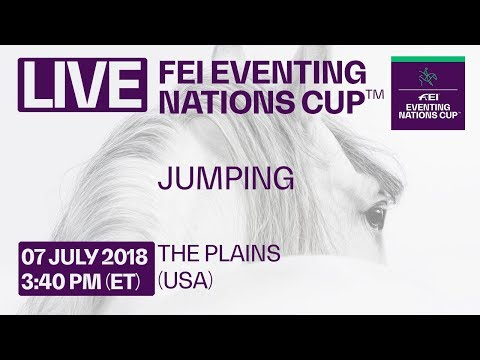 LIVE 🔴 | Jumping | The Plains (USA) | FEI Eventing Nations Cup™