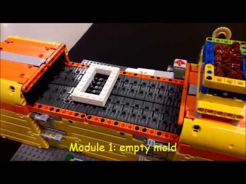 LEGO Mindstorms Milka-Chocolate-Factory