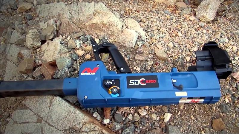 Minelab SDC 2300 Metal Detector Gold Finds