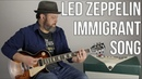 Led Zeppelin Immigrant Song Guitar Lesson