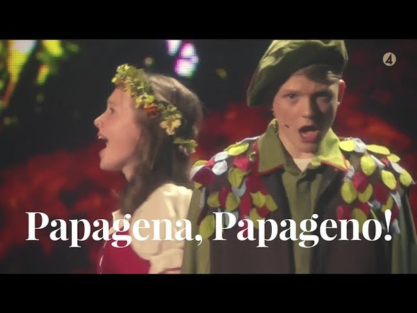Papagena, Papageno! | Aksel Rykkvin (15y) Inga Lohne-Otterstad (14y) | Stjärnornas stjärna