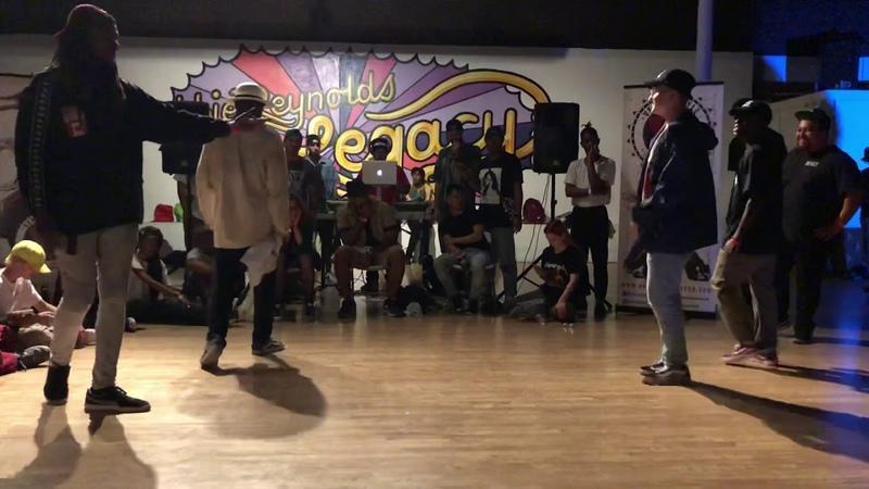 Alvin Robozilla vs Beat Drop Kidz | Semi Finals | LTMMY Vol. 2018 | Danceproject.info