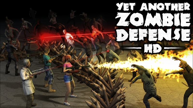 Yet Another Zombie Defense HD - Xbox One Release Date Announcement Trailer (PEGI)