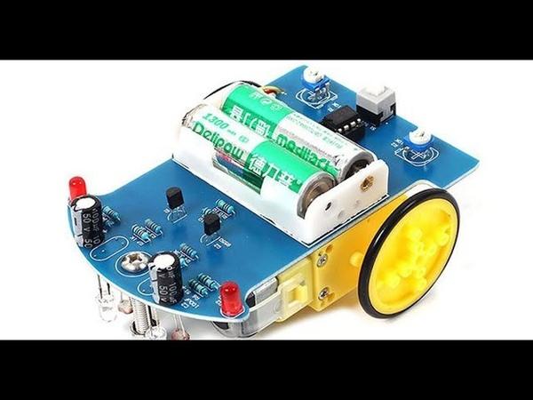 DIY Kits D2-1 Smart Car. Умная машинка с интеллектуальным движением по линии