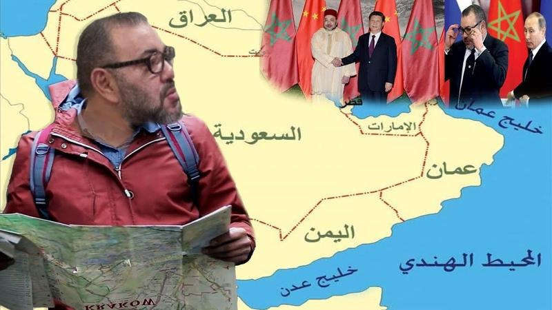 ها اعْلاشْ محمد السادس اتْلَفْ...بالبرهان!