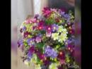 композиция из полевых цветов высота 30см диамерт 35 цена 1800р