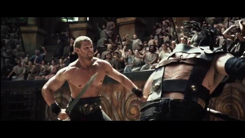 Геракл: Начало легенды (2014). Бои на арене
