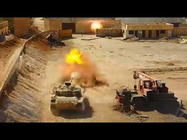 Syria War HD Real Combat Footage 2018   Eastern Ghouta Combat Footage SAA Vs FSA