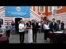 Вручение дипломов с отличием в Атриуме Петропавловской крепости 02 07 2018