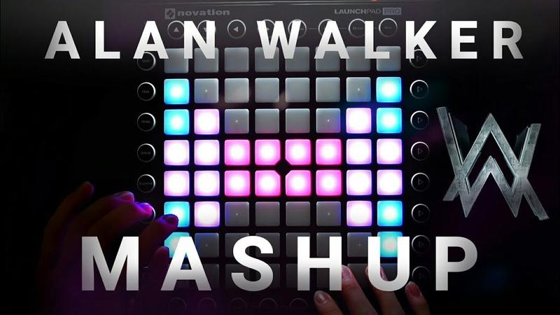 Alan Walker Mashup | Launchpad Mashup (Faded x SMTS x Alone x Tired) [UniPad Project File]