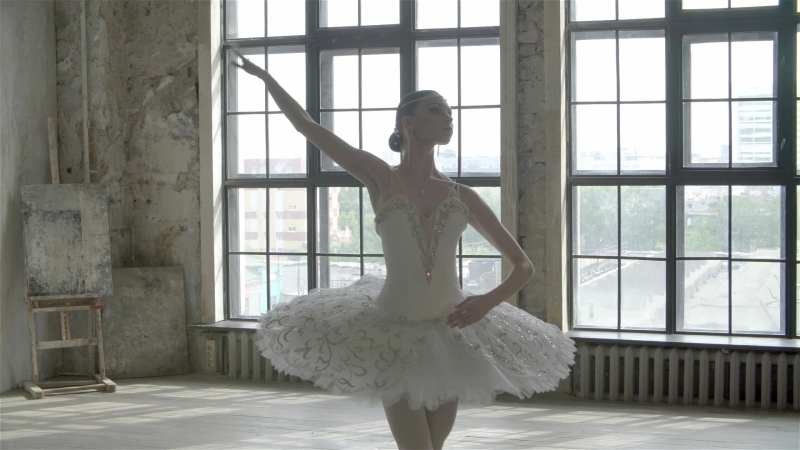 Анна Воробьева вариация из балета Раймонда