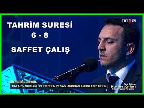Kur'an ı Kerim'i Güzel Okuma Yarışması Saffet Çalış Hafta Finali