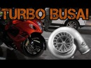 FAST ZX-14 and N/A Hayabusa VS TURBO BUSA! 60-160 (200 MPH!!)