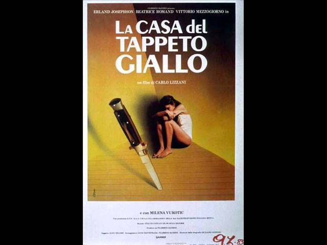 La casa del tappeto giallo - Stelvio Cipriani - 1983