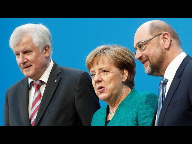 Almanya'da koalisyon partileri eleştiri oklarının hedefi oldu