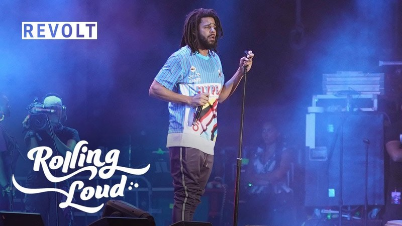 J Cole graces the stage performing 'Nobody's Perfect' | Rolling Loud