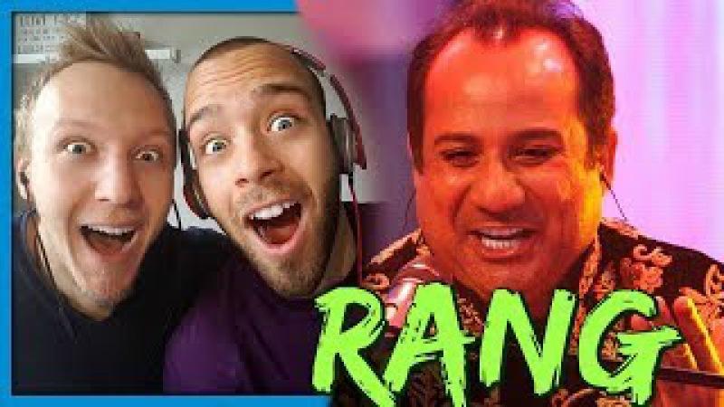 Rang, Rahat Fateh Ali Khan Amjad Sabri, Season Finale, Coke Studio Season 9 | Reaction by RnJ