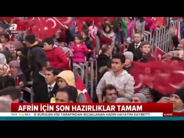 Mehmetçik Afrin operasyonu için teyakkuz halinde - Dailymotion Video