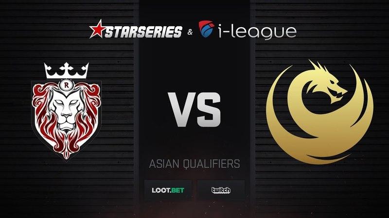 ROAR vs Recca, map 1 train, StarSeries i-League S5 Asian Qualifier