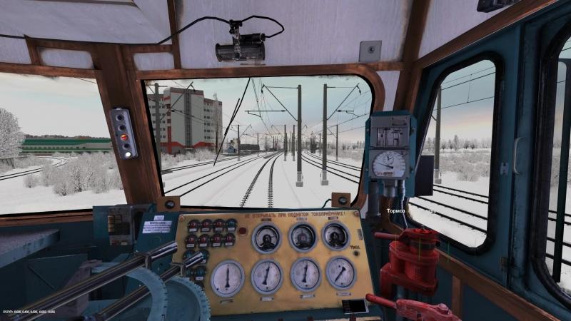 Trainz 12 | ВЛ10-1655 с вагоном-дефектоскопом по ЭК ВНИИЖТ