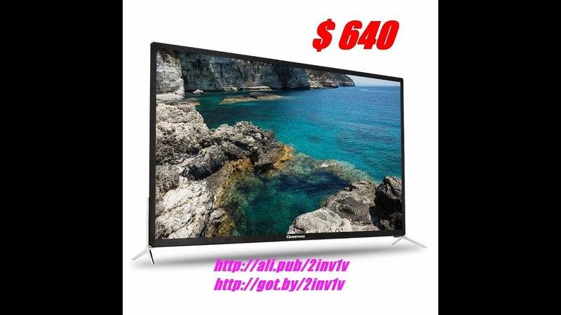 Телевизор, QUEENWAY, Smart 4 К HD, ТВ Android, 55 дюймов, WiFi, USB, 2018