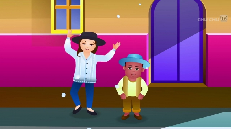 Baa baa Black sheep Chuchu TV