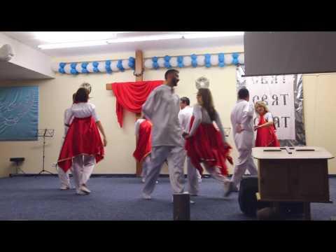 Танцевальный микс ,''Когда я вижу Твою славу Иисус