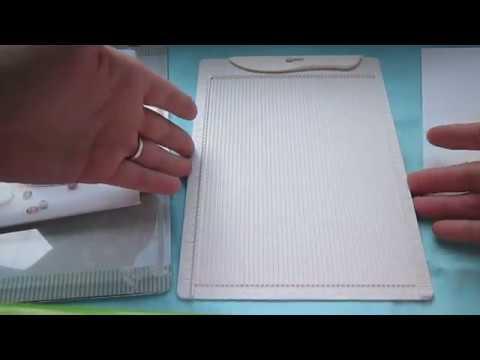 Обзор досочки для создания конвертов и открыток ( и для биговки,конечно же) от ТМ Рукоделие