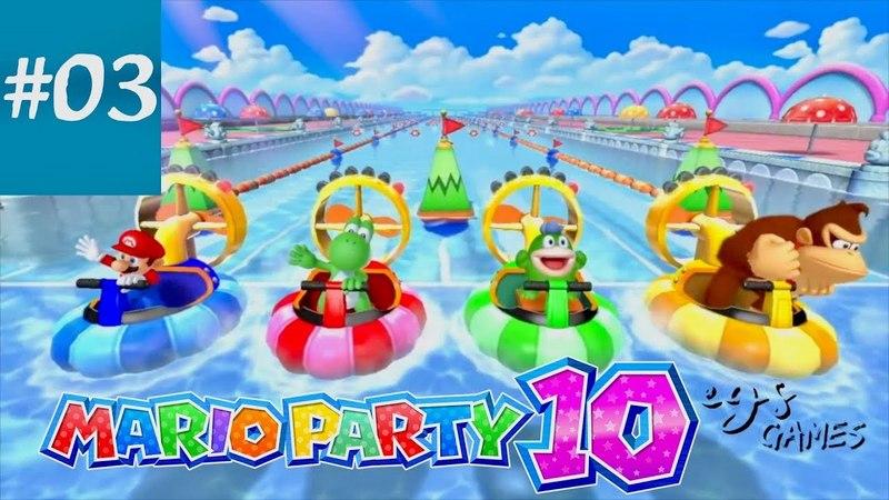 MARIO PARTY 10 || Mini Games || Part 03
