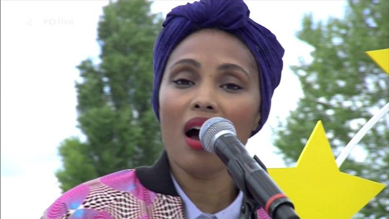 Imany - Don't Be So Shy - (LIVE) - ZDF Fernsehgarten 14.05.2017
