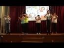 энергичный танец-зарядка на школьном вечере посвященный зож