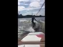 Первый урок вейк-серфинга