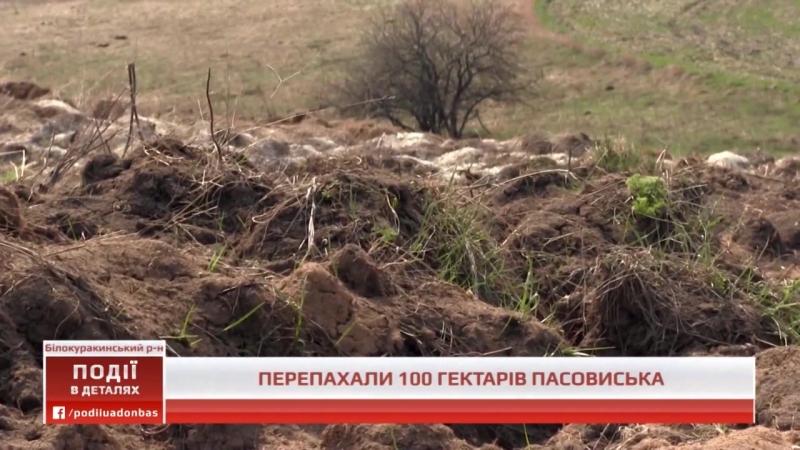 Події UA Донбас На території Шарівської сільради відбулося рейдерське захоплення 100 га землі 19 05 2018