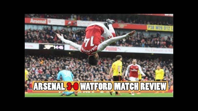 Arsenal 3 0 Watford Match Review Petr Cech Gets Him 200th Premier League Clean Sheet