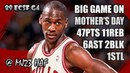 Michael Jordan Highlights 1989 ECSF Game 4 vs Knicks - 47pts, MOTHER is da REAL MVP!